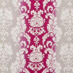 F0705/05 CAMELIA Fuchsia Clarke & Clarke Fabric