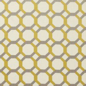 F0707/02 GIOVANNI Chartreuse Clarke & Clarke Fabric