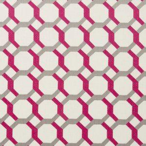 F0707/05 GIOVANNI Fuchsia Clarke & Clarke Fabric