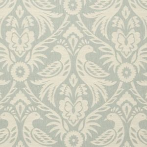 F0737/04 HAREWOOD Duckegg Clarke & Clarke Fabric