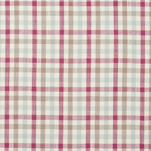 F0738/05 HATFIELD Raspberry Clarke & Clarke Fabric