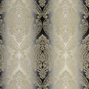 F0792/03 ORNATO Charcoal Clarke & Clarke Fabric