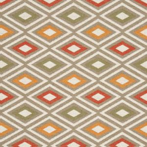 F0808/03 CHEROKEE Earth Clarke & Clarke Fabric