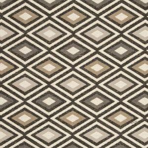 F0808/04 CHEROKEE Ebony Clarke & Clarke Fabric