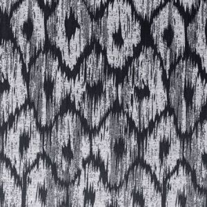 F0880/01 BW1008 Black White Clarke & Clarke Fabric
