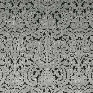 F0893/01 BW1020 Black White Clarke & Clarke Fabric