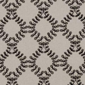 F0939/01 MALHAM Charcoal Clarke & Clarke Fabric