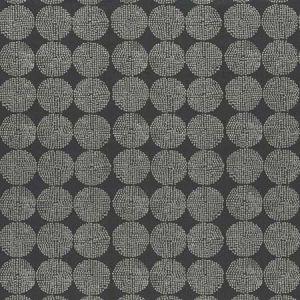 F0956/02 KIKO Charcoal Clarke & Clarke Fabric