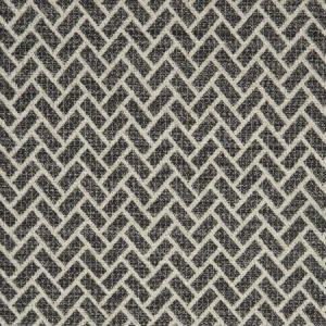 F0982/02 CIPRIANI Charcoal Clarke & Clarke Fabric
