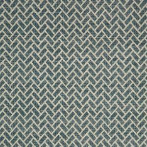 F0982/08 CIPRIANI Teal Clarke & Clarke Fabric