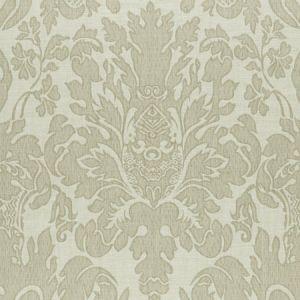 F0989/04 VALENTINA Natural Clarke & Clarke Fabric