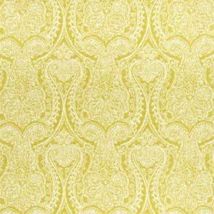 F1009/01 PASTICHE Chartreuse Clarke & Clarke Fabric