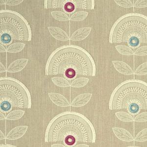 F1015/04 CALISTA Raspberry Mineral Clarke & Clarke Fabric