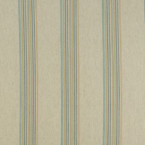 F1023/01 BOHO STRIPE Damson Spice Clarke & Clarke Fabric
