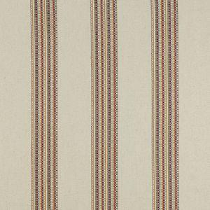 F1023/03 BOHO STRIPE Duckegg Blush Clarke & Clarke Fabric