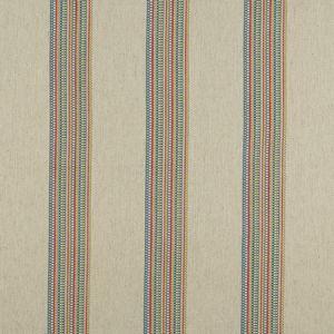 F1023/05 BOHO STRIPE Multi Clarke & Clarke Fabric