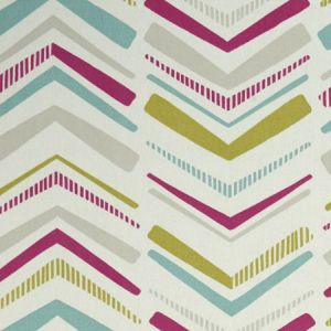 F1037/05 CHEVRON Summer Clarke & Clarke Fabric