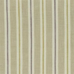 F1046/03 SACKVILLE STRIPE Heather Linen Clarke & Clarke Fabric