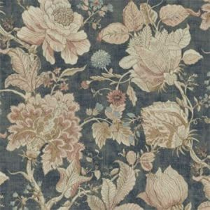 F1048/05 SISSINGHURST Midnight Spice Clarke & Clarke Fabric