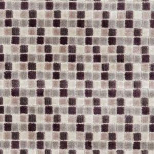 F1086/02 TRIBECA Damson Clarke & Clarke Fabric