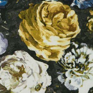 F1088/04 FLORETTA Mineral Charcoal Clarke & Clarke Fabric