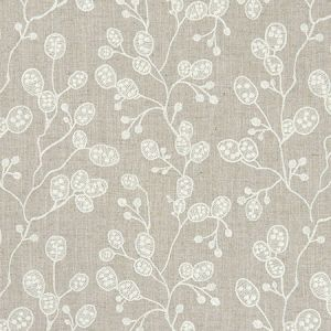 F1090/02 HONESTY Linen Clarke & Clarke Fabric