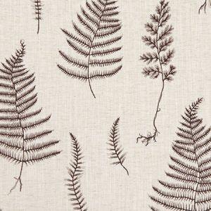 F1092/01 LORELLE Charcoal Linen Clarke & Clarke Fabric