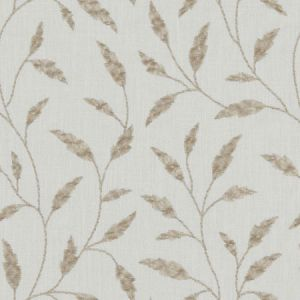 F1122/05 FAIRFORD Natural Clarke & Clarke Fabric