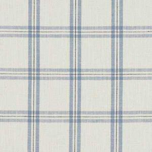 F1124/01 KELMSCOTT Denim Clarke & Clarke Fabric