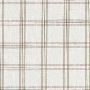 F1124/04 KELMSCOTT Natural Clarke & Clarke Fabric