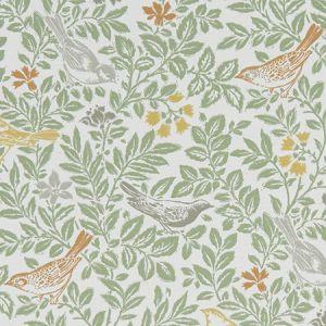 F1184/01 BIRD SONG Autumn Clarke & Clarke Fabric