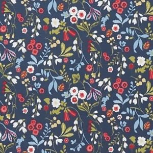 F1312/01 ASHBEE Rouge Clarke & Clarke Fabric