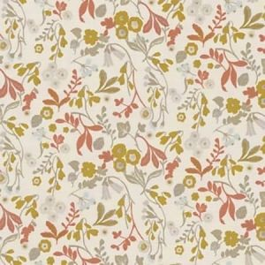 F1312/04 ASHBEE Ochre Clarke & Clarke Fabric