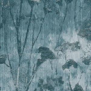 F1338/04 SILHOUETTE Kingfisher Clarke & Clarke Fabric