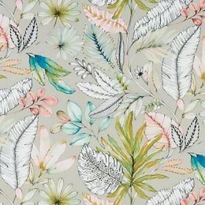 F1363/03 TROPICANA Pastel Clarke & Clarke Fabric