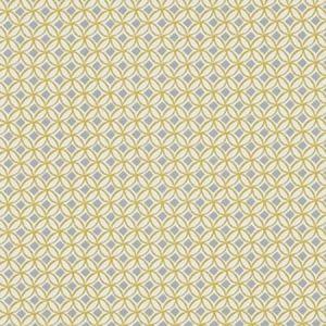 F1377/04 ORTIS Ochre Clarke & Clarke Fabric