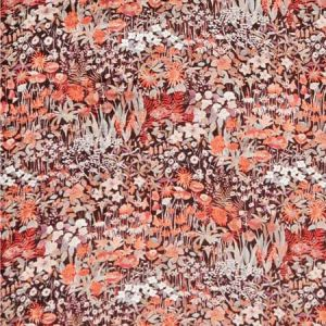 FARIA FLOWERS Blackberry Fabricut Fabric