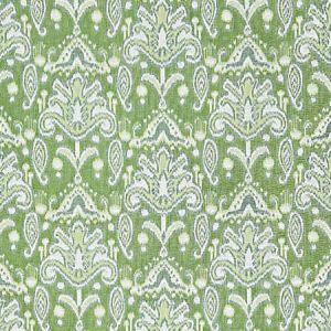 GW 0001 27210 KANDIRA IKAT Spring Green Scalamandre Fabric