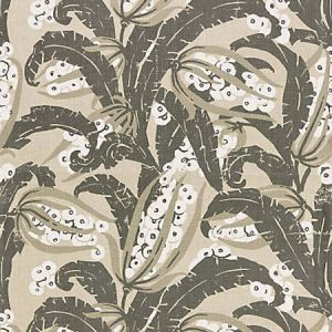 GW 0003 16609 TROPIQUE Stone Scalamandre Fabric