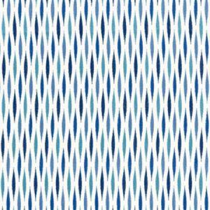 GW 0004 27208 CASCADE EMBROIDERY Marine Scalamandre Fabric