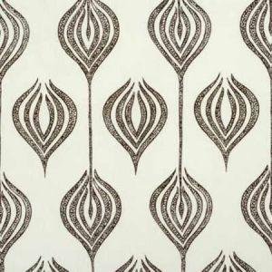GWF-2622-168 TULIP White Chocolate Groundworks Fabric