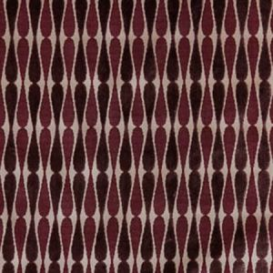 GWF-2640-909 DRAGONFLY Taupe Grape Groundworks Fabric