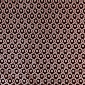 GWF-2641-909 PEARL Taupe Aubergine Groundworks Fabric