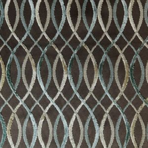 GWF-2642-13 INFINITY Taupe Aqua Groundworks Fabric
