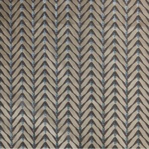 GWF-2643-13 ZEBRANO Beige Aqua Groundworks Fabric