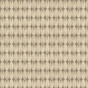 GWF-2924-116 OVAL FLAME White Groundworks Fabric