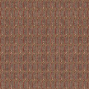 GWF-2924-619 OVAL FLAME Red Groundworks Fabric