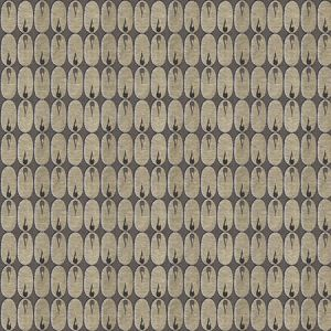 GWF-2924-816 OVAL FLAME Natural Groundworks Fabric
