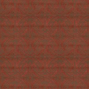 GWF-2926-19 LILY BRANCH Red Groundworks Fabric