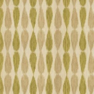 GWF-2927-23 IKAT DROPS Lime Groundworks Fabric